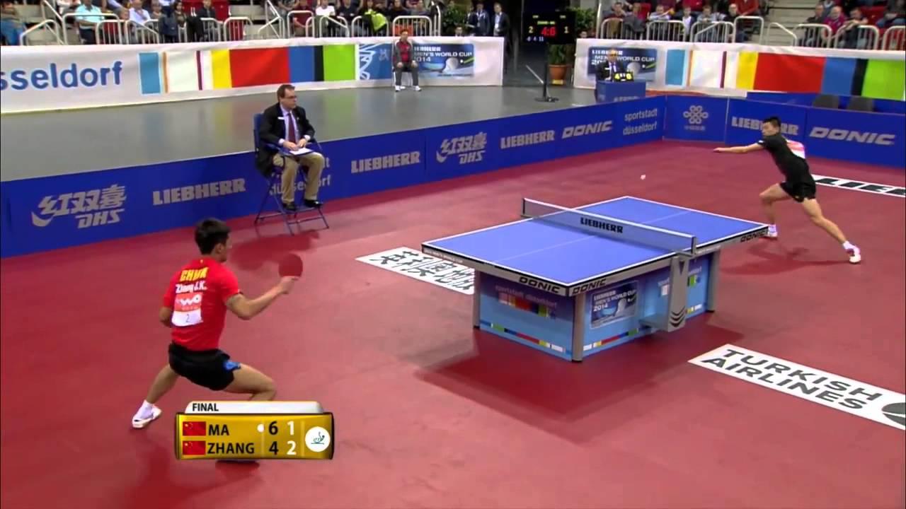 2014 Mens World Cup Highlights MA Long Vs ZHANG Jike Final Full HD
