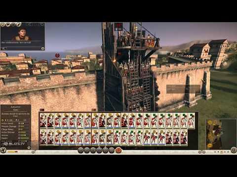 Total War™: ROME II - Emperor Edition First siege battle |