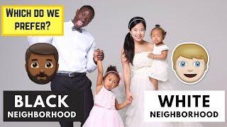 Blasian Family Experience in Black Neighborhood vs White Neighborhood in USA | Culture Talk #8