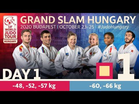 Grand Slam Hungary 2020 - Day 1: Tatami 1