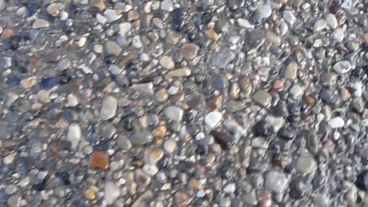 Exposed Aggregate Concrete Walkway Youtube