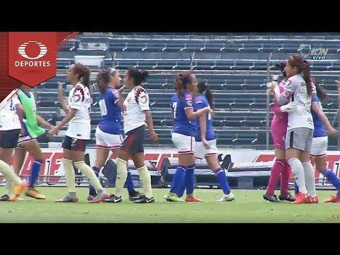 Resumen Cruz Azul 0 - 4 América   Liga MX Femenil – J11   Televisa Deportes