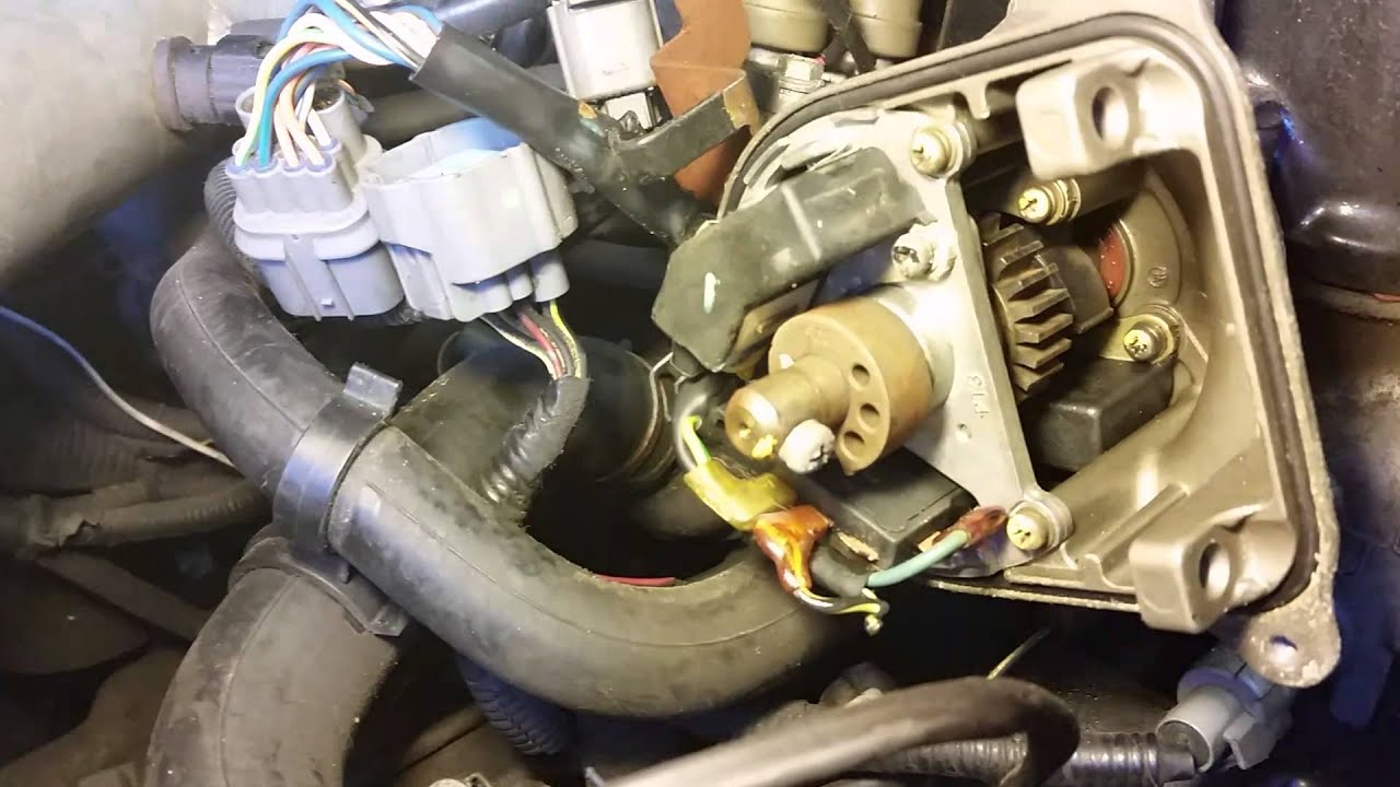 How to install a MSD BLASTER COIL in a HONDA CIVIC  YouTube