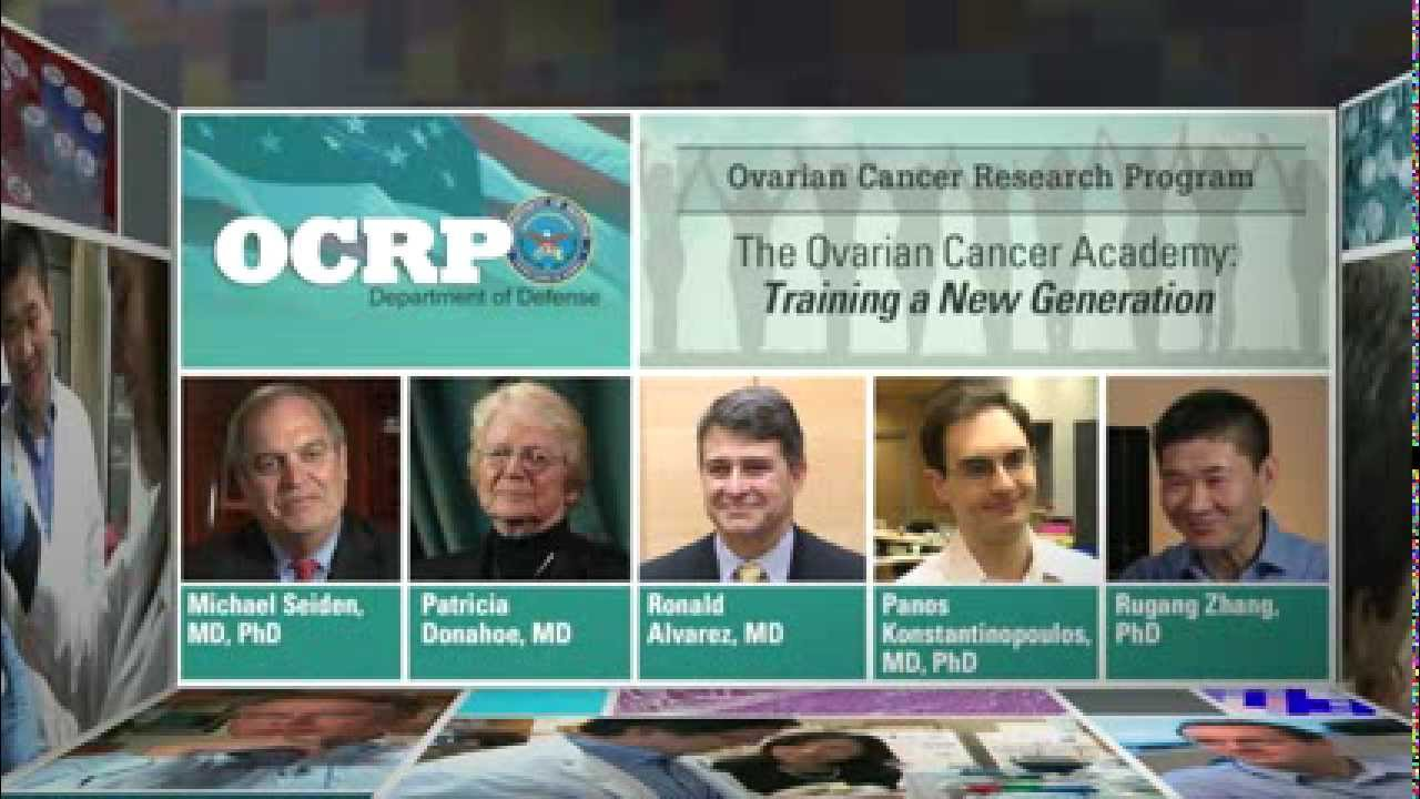 Ovarian Cancer Research Program The Dod Ovarian Cancer Academy Video Congressionally Directed Medical Research Programs