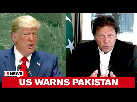 US Warns Pakistan Ahead Of US President Donald Trump's Visit To India