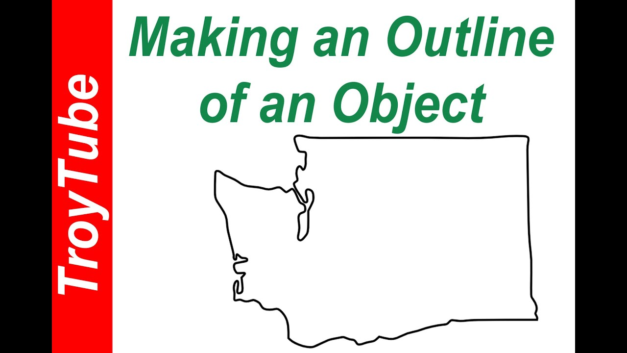 Outlining An Object with Inkscape