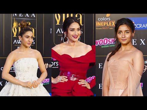 IIFA | Alia Bhatt, Sara Ali Khan, Ayushmann Khurrana & others hit green carpet in style