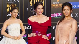 IIFA | Alia Bhatt, Sara Ali Khan, Ayushmann Khurrana & others hit green carpet in style