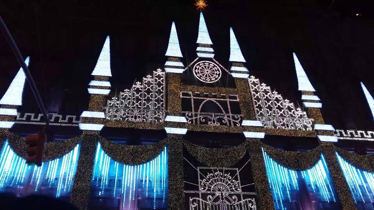 rockefeller centre christmas light show 2016 - Rockefeller Christmas Show