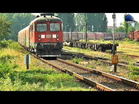 LDE2100 60-1703-7 & Marfar DB Cargo Freight Train  in Oradea Est Triaj - 05 June 2018