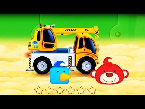 การ์ตูนรถก่อสร้าง รถยกของเล่น รถเครน รถยก เมืองแสนน่ารัก Cane Cartoon Kids#2