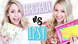 unboxing birchbox vs ipsy april   eleventhgorgeous