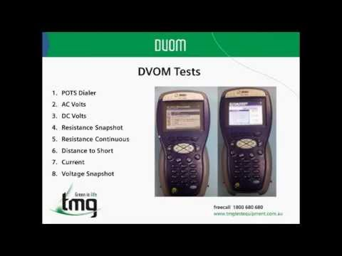 JDSU HST3000 Method Of Procedure (Copper) - TMG Test Equipment