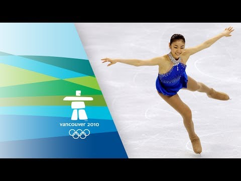 Yuna Kim Wins Figure Skating Gold - Free Program Highlights - Vancouver 2010 Winter Olympics