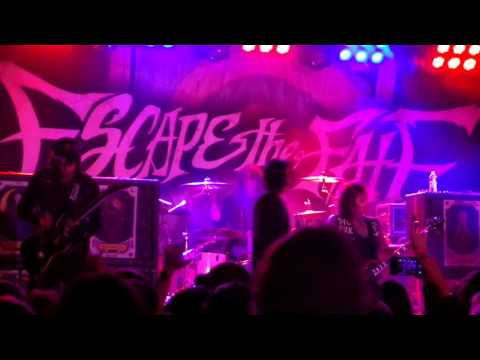 Escape the Fate - Les Enfants Terribles - Gas Monkey Bar and Grill - Dallas, Texas 11/7/15