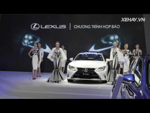 XEHAY.VN Gian h ng y cm xc ca Lexus thng hoa ti VMS2016