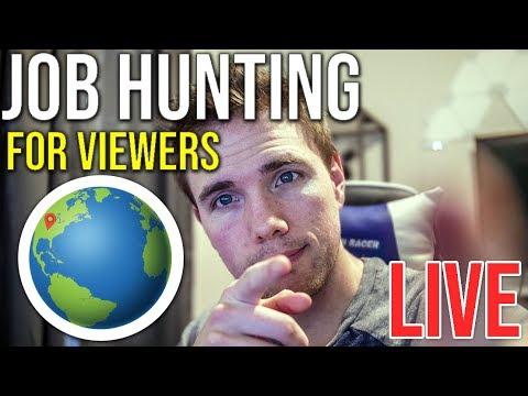 🔴-job-hunting-with-viewers-|-@joshuafluke-on-socials