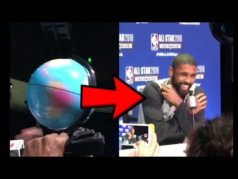 Stephen Jackson Taunts Kyrie Irving with Spinning Globe