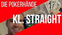 Poker kleine Straße - Poker Blätter bei Texas Holdem [Regeln lernen deutsch Video]