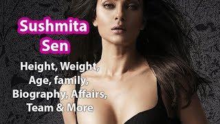 Sushmita Sen Height, Weight, Age, Biography, Affairs & Wiki