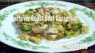 Leftover Roast Beef Casserole Recipe