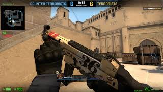 Counter-strike Global Offensive Another Win on Mirage With B-I-L