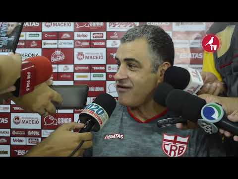 Coletiva técnico Marcelo Chamusca CSA x CRB