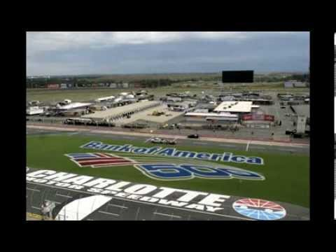 Bank of America 500 Infield Painting Time Lapse