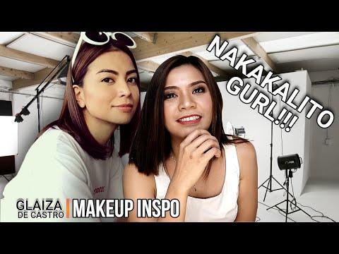MINAKE-UPAN KO SI GLAIZA!!!!   CELEBRITY MAKE-UP INSPO   Culay Make-Up Vlogs   Affordables