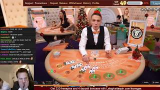Blackjack - Late night degenerate session