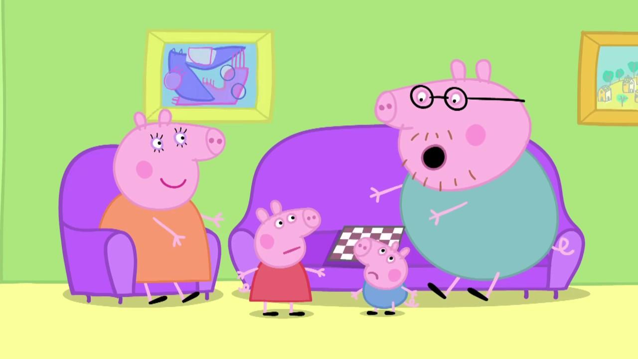 Peppa Pig 粉紅豬小妹 第1季 02【恐龍先生弄丟了】中文版 1080P - YouTube