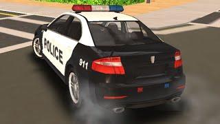 Jocuri cu masini de politie conduse de hoti prin oras in mare viteza