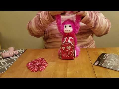 You've Got Mail Valentine's Day Monkey Mailbox    Dollar Tree DIY