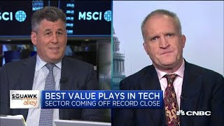 CFRA's John Freeman and Rally Pivotal's Michael Levine on the best value plays in tech