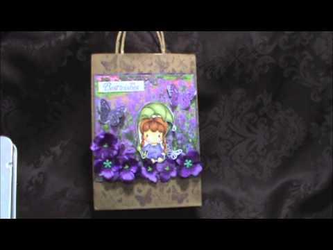 Gift Bag & Coloured Pencils