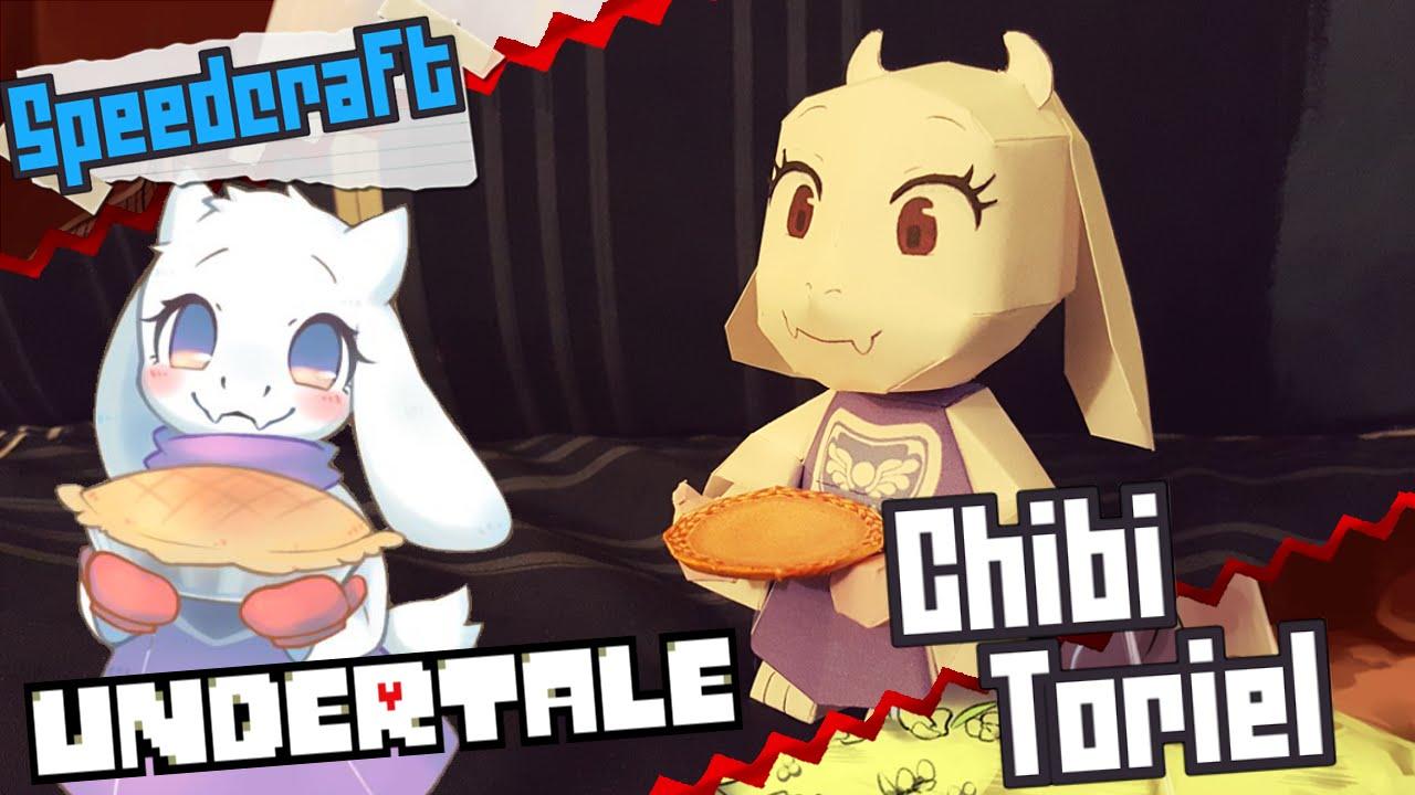 Papercraft Undertale Papercraft ~ Chibi Toriel ~