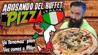 ABUSANDO DEL MEJOR BUFFET DE PIZZA EN ITALIA - Tourlé en Milán