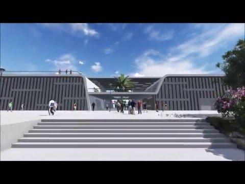 Architecture Lumion video Render -3D Animation- sport-center