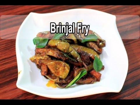 Brinjal Fry | Kathirikai varuval |...