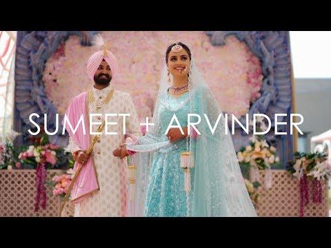Sumeet + Arvinder   A film by Mehar   Sonu Ramgharia   Mehar Photography   2018