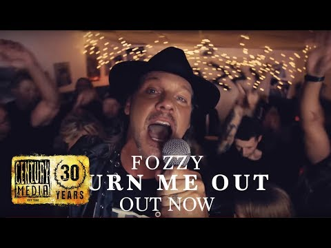 "Fozzy - ""Burn Me Out"" Music Video OUT NOW"