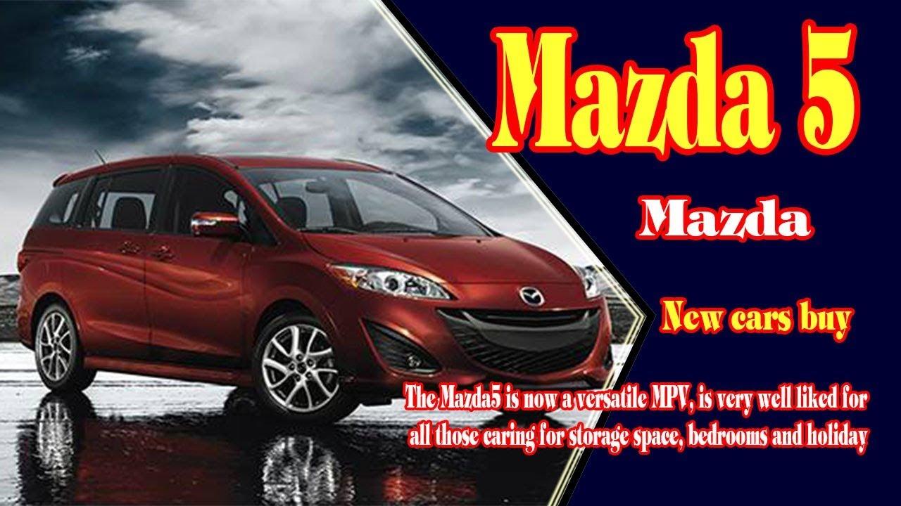 2018 Mazda 5 Sel Minivan New Cars
