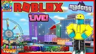 Roblox #95 | MAD CITY NEW UPDATE + MORE! | LIVE | (sjk livestreams #318)