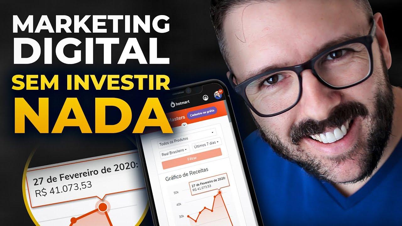 Dinheiro no Marketing Digital SEM INVESTIR NADA (o passo a passo que funciona)