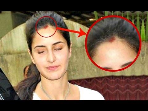 Katrina Kaif Spotted Wearing SINDOOR