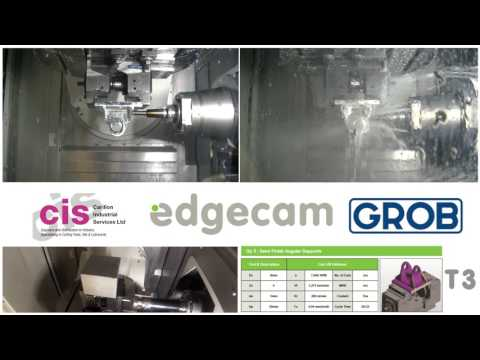 GROB G350 Generation 2 & CIS Tools Partners | Edgecam