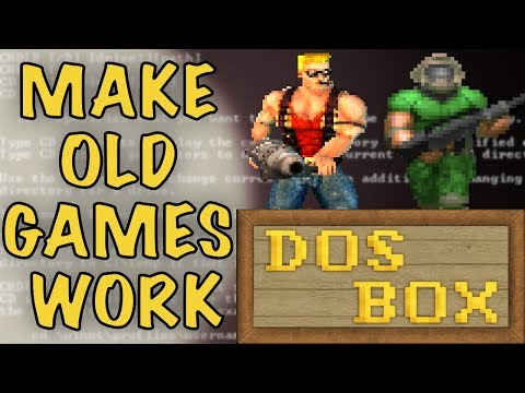 DOSBox Tutorial - How To Play Old Games On Windows 10 - How To Use DOSBox  -DOSBox Help