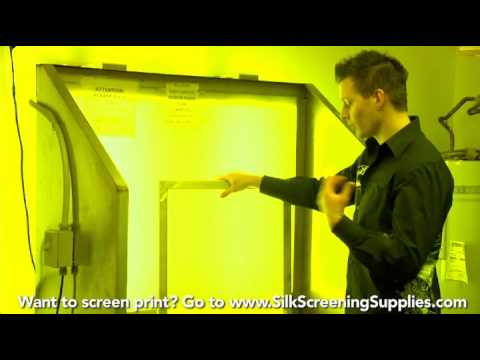 How to Screen Print - Ink Cleanup - Detailed instruction - Screen Printing 101 DVD pt 37