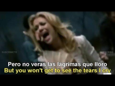 Kelly Clarkson  - Behind These Hazel Eyes [Lyrics English - Español Subtitulado]