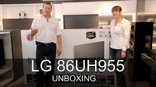 LG 86UH955 SUPER UHD TV 4K - UNBOXING- Thomas Electronic Online Shop - 65UH950